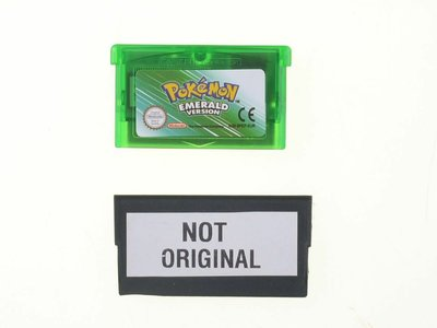 Pokemon Emerald Version Fake - Outlet