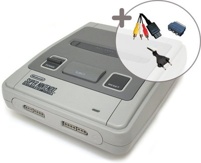 Super Nintendo [SNES] Console