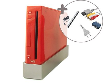 Nintendo Wii Console Red