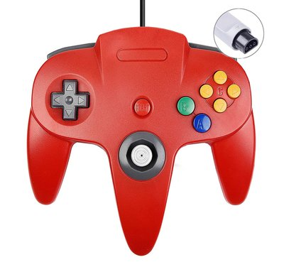 New Nintendo 64 [N64] Controller Red