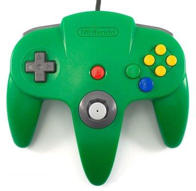 Nintendo 64 [N64] Controller Green (New Thumbstick)