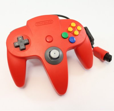 Nintendo 64 [N64] Controller Red (New Thumbstick)