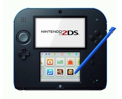 Nintendo 2DS Black-Blue