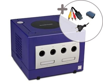 Nintendo Gamecube Console Purple