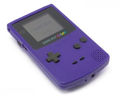 Nintendo Gameboy Color Purple