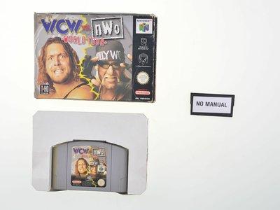 WCW vs. nWo world Tour - (No Manual)