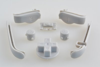Gameboy Advance Button Set - Grey