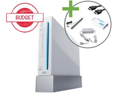Nintendo Wii Console - White - Budget