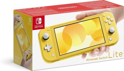 Nintendo Switch Lite Yellow Console (Compleet)