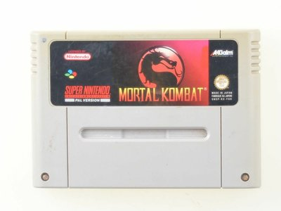 Mortal Kombat - Super Nintendo - Outlet