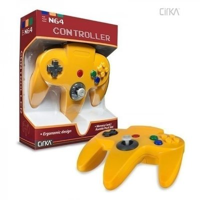 New Nintendo 64 [N64] Controller Yellow