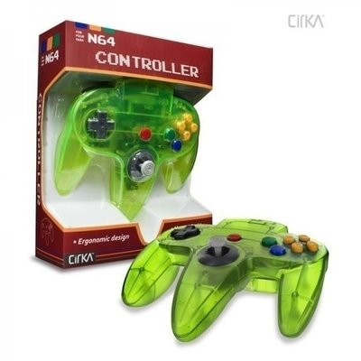 New Nintendo 64 [N64] Controller Jungle Green