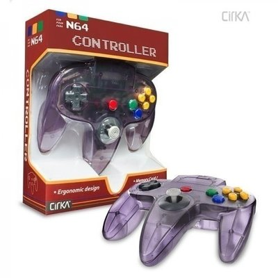 New Nintendo 64 [N64] Controller Atomic Purple