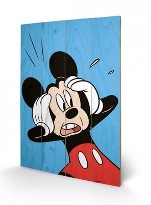 Mickey Mouse [Wooden Art]