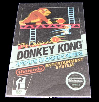 Donkey Kong Arcade [Wooden Art Small]