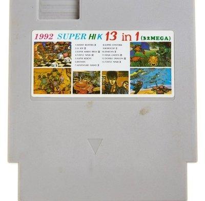 1992 Super Hi K 13 in 1 White