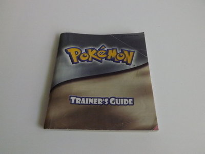 Pokemon Trainer's Guide (Silver/Gold)