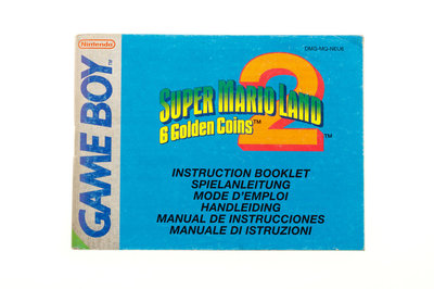 Super Mario Land 2: 6 Golden Coins (Manual)