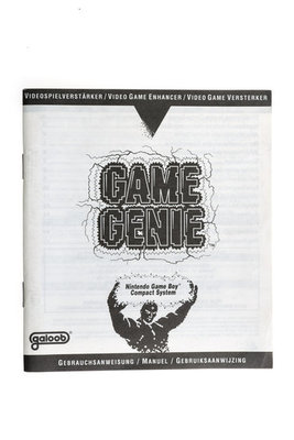 Game Genie Game Boy
