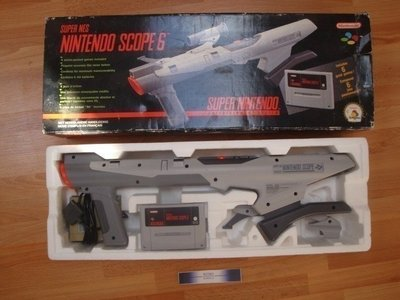SNES Scope Set + Games (8)