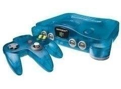 Nintendo 64 [N64] Console Atomic Blue + Controller