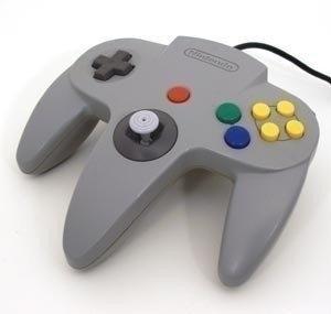 Nintendo 64 [N64] Controller Grey (New Thumbstick)