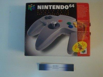 Nintendo 64 [N64] Controller Grey [Boxed]