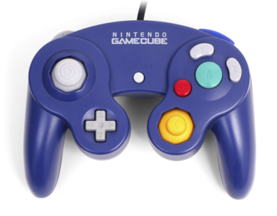 Original Nintendo Gamecube [NGC] Controller Purple