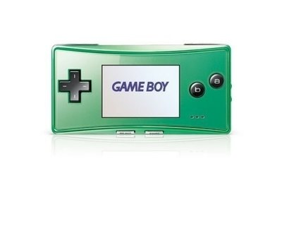 Game Boy Micro Green