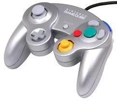 Original Nintendo Gamecube [NGC] Controller Silver