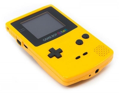 Gameboy Color Yellow