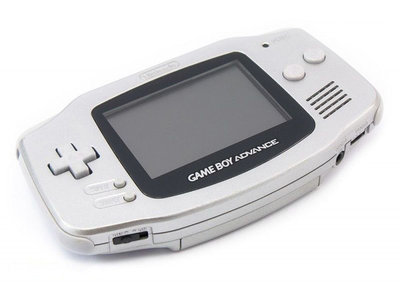 Gameboy Advance Silver