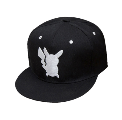 Pokemon Go - Pikachu Hat Snapback Edition Black