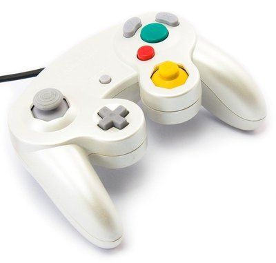 Originele Nintendo Gamecube [NGC] Controller Pearl White