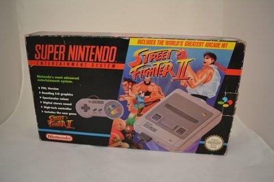 Super Nintendo Street Fighter II Pack