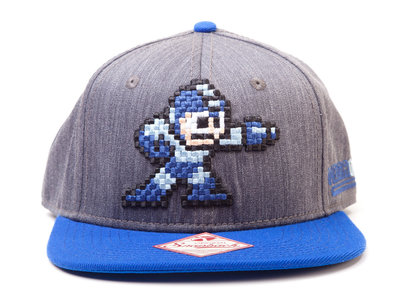 Mega Man Pixel Snapback