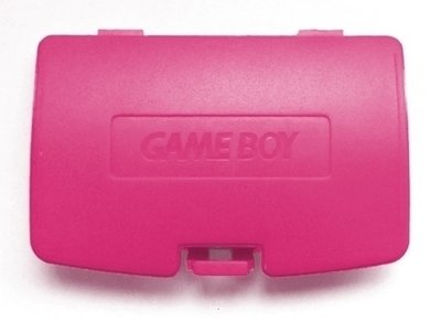 Game Boy Color Battery Cover (Red)
