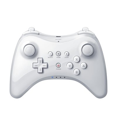 New Wii U Pro Controller Black