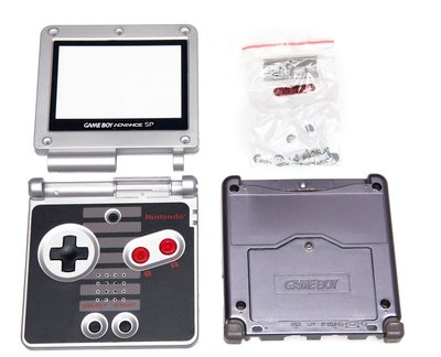 Game Boy Advance SP Shell NES Edition