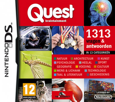 Quest Braintainment - 1313 vragen & antwoorden