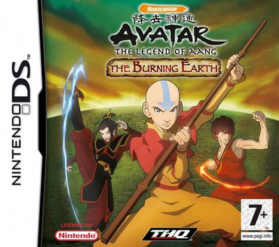 Avatar - The Legend of Aang - The Burning Earth