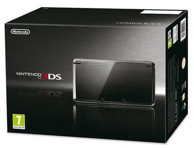 Nintendo 3DS Cosmos Black [Complete]