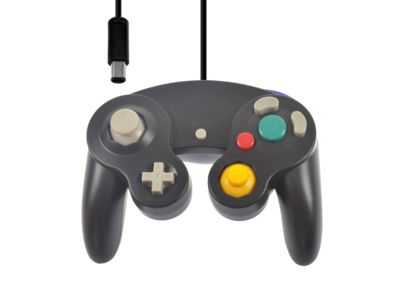 New GameCube Controller Black