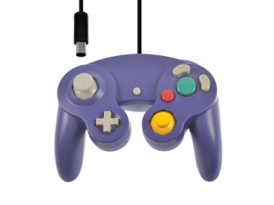 New Gamecube Controller Purple