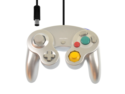New Gamecube Controller Silver