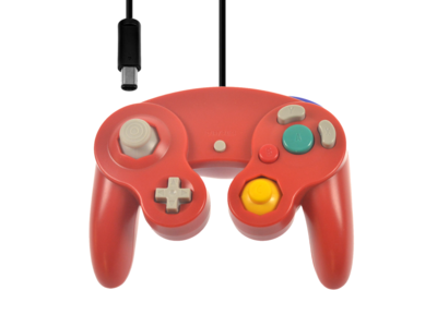 New GameCube Controller Red
