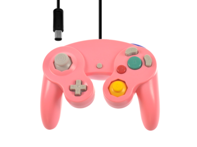 New GameCube Controller Pink
