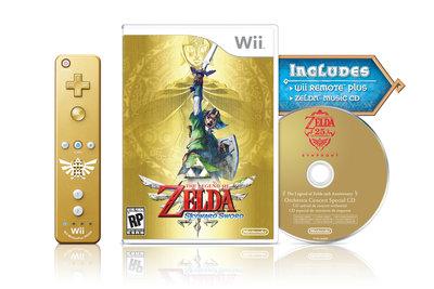 Zelda Skyward Sword Limited + Controller + CD