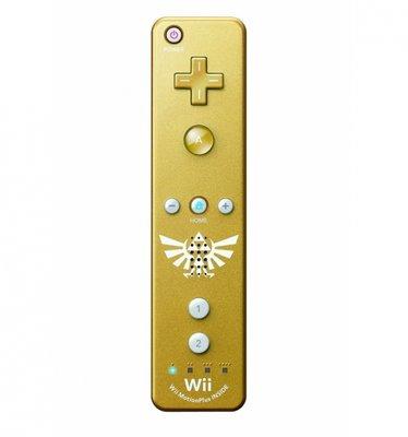 Wii Motion Plus Controller Zelda Edition