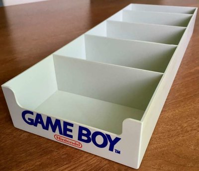 Original Nintendo Gameboy Collector's Tray